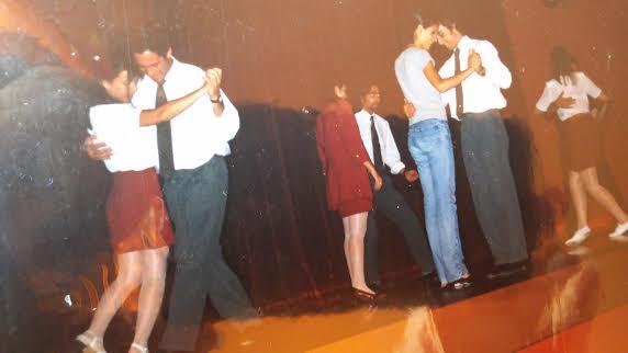 Practicando tango